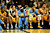 Denver Nuggets point guard Ty Lawson (3) sits on the bench with teammates during the second half of the Nugget's 92-78 win at the Pepsi Center on Tuesday, January 1, 2013. AAron Ontiveroz, The Denver Post