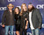 Jason Aldean, Jessica Ussery Aldean, Korie Robertson and Willie Robertson attend the 2012 CMT 