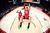 NBA All-Star Blake Griffin of the Los Angeles Clippers (C) hangs onto the rim after dunking during the 2013 NBA All-Star basketball game in Houston, Texas, February 17, 2013. REUTERS/Ronald Martinez-POOL