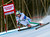 Werner Heel from Italy, speeds down the course during the men's World Cup super-g ski race in Beaver Creek, Colo., on Saturday, Dec. 1, 2012. (AP Photo/Nathan Bilow)