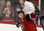 Minnesota Wild's Mikko Koivu, of Finland, celebrates after scoring in the third period of an NHL hockey game against the Colorado Avalanche, Thursday, Feb. 14, 2013, in St. Paul, Minn. The Avalanche won 4-3 in a shootout. (AP Photo/Jim Mone)