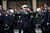 Members of the FDNY march on Fifth Avenue during the 252nd annual St. Patrick's Day Parade March 16, 2013 in New York City. The parade honors the patron saint of Ireland and was held for the first time in New York on March 17, 1762, 14 years before the signing of the Declaration of Independence. (Photo by Ramin Talaie/Getty Images)