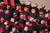 Archbishops (purple hats) and cardinals (red hats) sit in St Peter's Square as Pope Benedict XVI delivers his final weekly public audience on February 27, 2013 in Vatican City, Vatican.  The Pontiff has attended his last weekly public audience before stepping down tomorrow. Pope Benedict XVI has been the leader of the Catholic Church for eight years and is the first Pope to retire since 1415. He cites ailing health as his reason for retirement and will spend the rest of his life in solitude away from public engagements.  (Photo by Oli Scarff/Getty Images)
