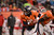 Denver Broncos quarterback Peyton Manning (18) looks to hand off in the third quarter as the Denver Broncos took on the Kansas City Chiefs at Sports Authority Field at Mile High in Denver, Colorado on December 30, 2012. John Leyba, The Denver Post