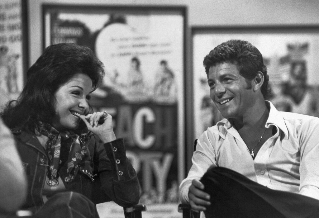 Description of . Frankie Avalon and Annette Funicello in 1977. (AP Photo)
