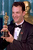 US actor Tom Hanks poses with his Oscar 21 March during the 66th Annual Academy Awards ceremony after winning the 1993 award for best actor for his performance in the movie