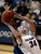 Colorado Buffaloes forward Jen Reese (34) goes up for a shot on California Golden Bears center Talia Caldwell (33) during the second half Sunday, January 6, 2013 at Coors Events Center. John Leyba, The Denver Post