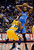DENVER, CO. - JANUARY 20: Denver Nuggets small forward Corey Brewer (13) closely guards Oklahoma City Thunder small forward Kevin Durant (35) as he looks to make a pass during the third quarter January 20,  2013 at Pepsi Center. The Denver Nuggets defeated the Oklahoma City Thunder 121-118.  (Photo By John Leyba / The Denver Post)