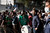 Egyptian demonstrators during protests in Cairo, Nov. 27, 2012. Demonstrators began flowing into the streets of Cairo Tuesday for a day of protest against President Mohammed Morsi's effort to assert broad new powers, dismissing his efforts only hours before to reaffirm his deference to Egyptian law and courts. (Ivor Prickett/The New York Times)