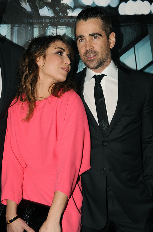 Description of . Actors Noomi Rapace and Colin Farrell arrive to the premiere of FilmDistricts's
