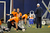 Denver Broncos quarterback Peyton Manning (18) stretches during practice under the bubble Wednesday, December 19, 2012 at Dove Valley as they prepare for the Cleveland Browns.  John Leyba, The Denver Post