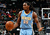 Kenneth Faried #35 of the Denver Nuggets reacts after drawing a foul against the Atlanta Hawks at Philips Arena on December 5, 2012 in Atlanta, Georgia.  (Photo by Kevin C. Cox/Getty Images)