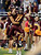 Central Michigan wide receiver Cody Wilson (11) celebrate his fourth-quarter touchdown with a teammate in the Little Caesars Pizza Bowl NCAA college football game against Western Kentucky at Ford Field in Detroit, Wednesday, Dec. 26, 2012. Central Michigan won 24-21. (AP Photo/Carlos Osorio)