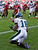 Philadelphia Eagles wide receiver Jeremy Maclin (18) pulls in the winning touchdown with no time remaining on the clock against the Tampa Bay Buccaneers in the fourth quarter of an NFL football game, Sunday, Dec. 9, 2012, in Tampa, Fla. The Eagles won 23-21. (AP Photo/Chris O'Meara)