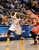 DENVER, CO. - JANUARY 30: Denver Nuggets point guard Ty Lawson (3) drives on Houston Rockets shooting guard James Harden (13) during the first quarter January 30, 2013 at Pepsi Center. The Denver Nuggets take on the Houston Rockets in NBA action. (Photo By John Leyba/The Denver Post)