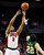 UNLV's Anthony Marshall hits a shot over Colorado State's Dorian Green for the lead during the final moments of the second half of an NCAA college basketball game on Wednesday, Feb. 20, 2013, in Las Vegas. UNLV defeated Colorado State 61-59. (AP Photo/Isaac Brekken)