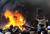 Angry Pakistani demonstraters torch Christian's belongings during a protest over a blasphemy row in a Christian neighborhood in Badami Bagh area of Lahore on March 9, 2013. Thousands of angry protestors on March 9 set ablaze more than 100 houses of Pakistani Christians over a blasphemy row in the eastern city of Lahore, officials said. Over 3,000 Muslim protestors turned violent over derogatory remarks allegedly made by a young Christian, Sawan Masih, 28 against Prophet Muhammad in a Christian neighboorhood in Badami Bagh area.  Arif Ali/AFP/Getty Images