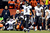 Baltimore Ravens quarterback Joe Flacco (5) celebrates the 28 to 28 touchdown during the second half.  The Denver Broncos vs Baltimore Ravens AFC Divisional playoff game at Sports Authority Field Saturday January 12, 2013. (Photo by Hyoung Chang,/The Denver Post)