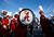 Alabama Crimson Tide band members walk outside Sun Life stadium before the BCS National Championship college football game between Alabama and the Notre Dame Fighting Irish in Miami, Florida January 7, 2013. REUTERS/Mike Segar