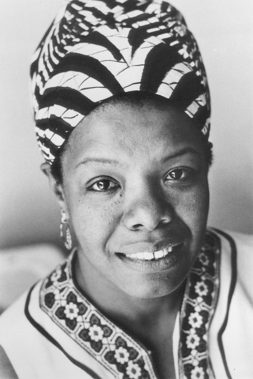 . Maya Angelou, 1975. Photo by Jill Krementz. Denver Post Library photo archive