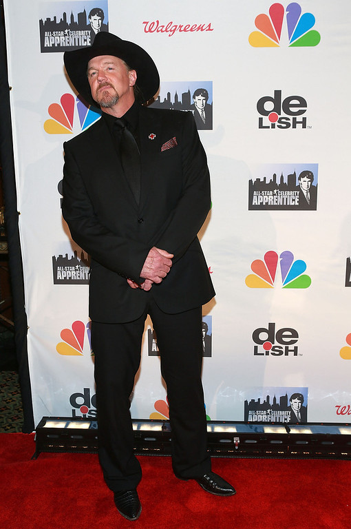 "Description of . Trace Adkins attends ""All Star Celebrity Apprentice\"" Finale at Cipriani 42nd Street on May 19, 2013 in New York City.  (Photo by Robin Marchant/Getty Images)"