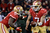 Quarterback Colin Kaepernick #7 of the San Francisco 49ers hands the ball to running back Frank Gore #21 against the Green Bay Packers during the NFC Divisional Playoff Game at Candlestick Park on January 12, 2013 in San Francisco, California.  (Photo by Harry How/Getty Images)