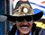 NASCAR legend Richard Petty smiles while watching practice for the Daytona 500 at Daytona International Speedway in Daytona Beach, Fla., Saturday, Feb. 11, 2006. (AP Photo/Lynne Sladky)