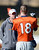 Quarterbacks coach Adam Gase talks with Denver Broncos quarterback Peyton Manning (18) during practice Wednesday, January 9, 2013 at Dove Valley.  John Leyba, The Denver Post