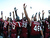 Players of the South Carolina Gamecocks salute their fans after a 33 - 28  victory against the Michigan Wolverines in the Outback Bowl January 1, 2013 at Raymond James Stadium in Tampa, Florida.  (Photo by Al Messerschmidt/Getty Images)