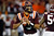 Quarterback Logan Thomas #3 of the Virginia Tech Hokies looks for an open receiver against the Rutgers Scarlet Knights during the Russell Athletic Bowl Game at the Florida Citrus Bowl on December 28, 2012 in Orlando, Florida.  (Photo by J. Meric/Getty Images)