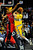 Denver Nuggets small forward Danilo Gallinari (8) drives on Toronto Raptors shooting guard DeMar DeRozan (10) during the second half of the Nuggets' 113-110 win at the Pepsi Center on Monday, December 3, 2012. AAron Ontiveroz, The Denver Post