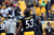 Maurkice Pouncey #53 of the Pittsburgh Steelers warms up before his game against the Cleveland Browns at Heinz Field on December 30, 2012 in Pittsburgh, Pennsylvania.  (Photo by Karl Walter/Getty Images)