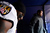 Baltimore Ravens inside linebacker Ray Lewis (52) waits to run onto the field before the start of the game. The Denver Broncos vs Baltimore Ravens AFC Divisional playoff game at Sports Authority Field Saturday January 12, 2013. (Photo by AAron  Ontiveroz,/The Denver Post)