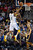 DENVER, CO. - JANUARY 28: Denver Nuggets shooting guard Andre Iguodala (9) goes up for an easy layup past Indiana Pacers center Roy Hibbert (55) during the first quarter  January 28, 2013 at Pepsi Center. The Denver Nuggets host  the Indiana Pacers in NBA Action. (Photo By John Leyba / The Denver Post)