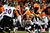Denver Broncos wide receiver Matt Willis (12) runs for a 7-yard gain in the fourth quarter. The Denver Broncos vs Baltimore Ravens AFC Divisional playoff game at Sports Authority Field Saturday January 12, 2013. (Photo by AAron  Ontiveroz,/The Denver Post)