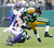 Green Bay Packers running back James Starks (R) is tackled by Minnesota Vikings safety Harrison Smith during the first half of a NFL football game in Green Bay, Wisconsin December 2, 2012. REUTERS/Darren Hauck