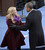 US President Barack Obama greets singer Kelly Clarkson (C) after Obama took the oath of office during the 57th Presidential Inauguration ceremonial swearing-in at the US Capitol on January 21, 2013 in Washington, DC. The oath was administered by US Supreme Court Chief Justice John Roberts.   BRENDAN SMIALOWSKI/AFP/Getty Images