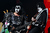Gene Simmons and Tommy Thayer of KISS perform live on stage as part of their Monster Tour with Motley Crue and Thin Lizzy at Perth Arena on February 28, 2013 in Perth, Australia.  (Photo by Paul Kane/Getty Images)