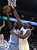 OAKLAND, CA - NOVEMBER 29: Kenneth Faried #35 of the Denver Nuggets is fouled by Festus Ezeli #31 of the Golden State Warriors at Oracle Arena on November 29, 2012 in Oakland, California.  (Photo by Ezra Shaw/Getty Images)
