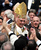 In this Sunday, Sunday, April 24, 2005 file photo, Pope Benedict XVI waves as he rides on the Popemobile through St. Peter's Square at the Vatican, following his installment Mass. Pope Benedict XVI announced Monday, Feb. 11, 2013, he would resign Feb. 28 because he is simply too old to carry on. (AP Photo/Andrew Medichini, File)