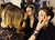 Make up artists prepare models before the Women's Spring/Summer 2013 Haute Couture fashion collection fashion show by French designer Alexandre Vauthier presented in Paris, Tuesday, Jan. 22 2013 (AP Photo/ Jacques Brinon)