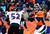 Denver Broncos quarterback Peyton Manning (18) makes a pass in the second quarter and Baltimore Ravens inside linebacker Ray Lewis (52) struggles to reach him. The Denver Broncos vs Baltimore Ravens AFC Divisional playoff game at Sports Authority Field Saturday January 12, 2013. (Photo by AAron  Ontiveroz,/The Denver Post)