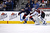 Semyon Varlamov #1 of the Colorado Avalanche poke checks the puck away from Mark Letestu #10 of the Columbus Blue Jackets during the first period on March 3, 2013 at Nationwide Arena in Columbus, Ohio. (Photo by Kirk Irwin/Getty Images)