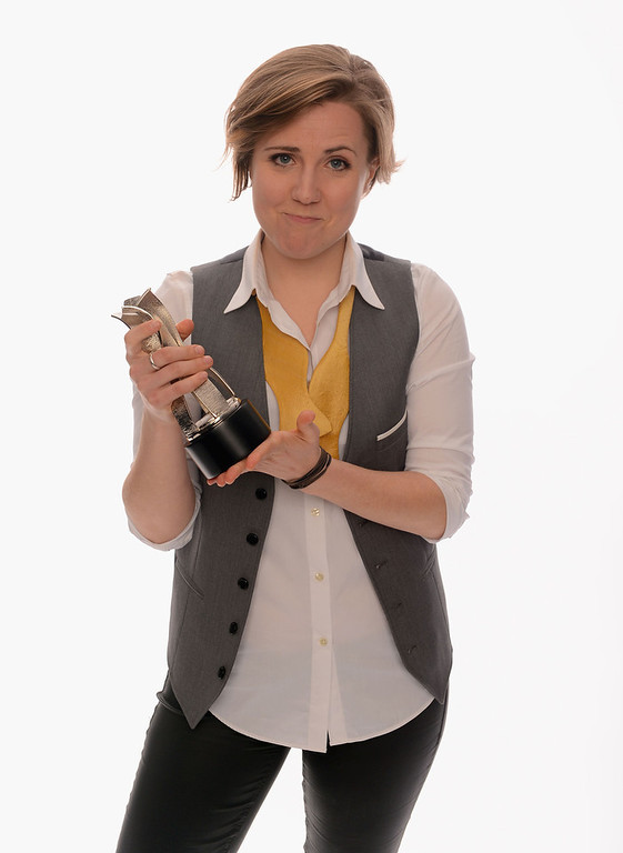 Description of . Internet personality Hannah Hart poses for a portrait in the TV Guide Portrait Studio at the 3rd Annual Streamy Awards at Hollywood Palladium on February 17, 2013 in Hollywood, California.  (Photo by Mark Davis/Getty Images for TV Guide)