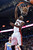 Toronto Raptors' DeMar DeRozan dunks against the Denver Nuggets during the first half of an NBA basketball game in Toronto on Tuesday, Feb. 12, 2013. (AP Photo/The Canadian Press, Chris Young)