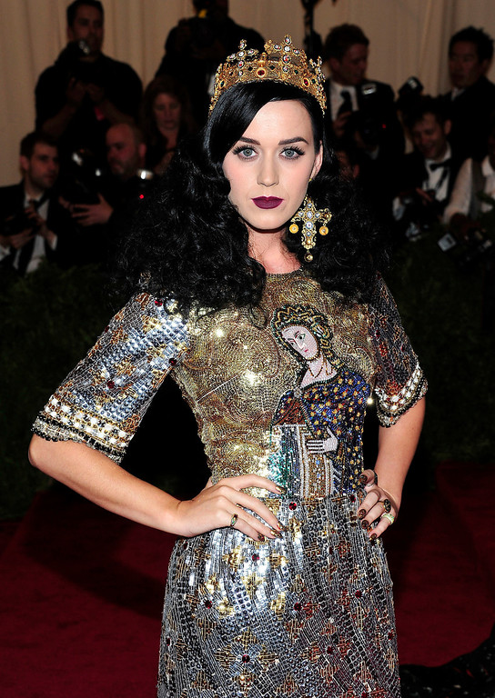 Description of . Katy Perry attends The Metropolitan Museum of Art's Costume Institute benefit celebrating
