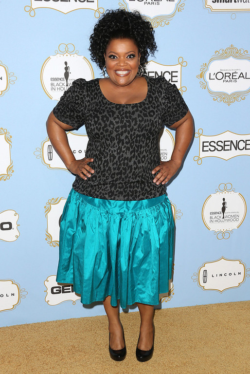 Description of . Actress Yvette Nicole Brown attends the Sixth Annual ESSENCE Black Women In Hollywood Awards Luncheon at the Beverly Hills Hotel on February 21, 2013 in Beverly Hills, California.  (Photo by Frederick M. Brown/Getty Images)