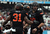 Jeremy Smith #31 of the Oklahoma State Cowboys celebrates a touchdown with Clint Chelf #10 against the Purdue Boilermakers during the Heart of Dallas Bowl at Cotton Bowl on January 1, 2013 in Dallas, Texas.  (Photo by Ronald Martinez/Getty Images)