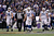 Andrew Luck #12 of the Indianapolis Colts and his teammates walk up field against the Baltimore Ravens during the AFC Wild Card Playoff Game at M&T Bank Stadium on January 6, 2013 in Baltimore, Maryland.  (Photo by Rob Carr/Getty Images)