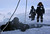 Alexander Gubin, 43, prepares to dive into the frozen Labynkyr lake, some 100 km south from Oymyakon in the Republic of Sakha, northeast Russia, February 1, 2013. The coldest temperatures in the northern hemisphere have been recorded in Sakha, the location of the Oymyakon valley, where according to the United Kingdom Met Office a temperature of -67.8 degrees Celsius (-90 degrees Fahrenheit) was registered in 1933 - the coldest on record in the northern hemisphere since the beginning of the 20th century. Yet despite the harsh climate, people live in the valley, and the area is equipped with schools, a post office, a bank, and even an airport runway (albeit open only in the summer).    Picture taken February 1, 2013.    REUTERS/Maxim Shemetov
